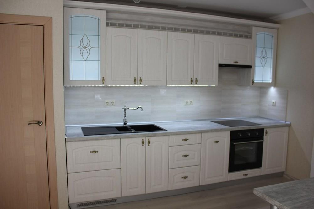 Акриловые кухни-Кухня из пластика «Модель 185»-фото2