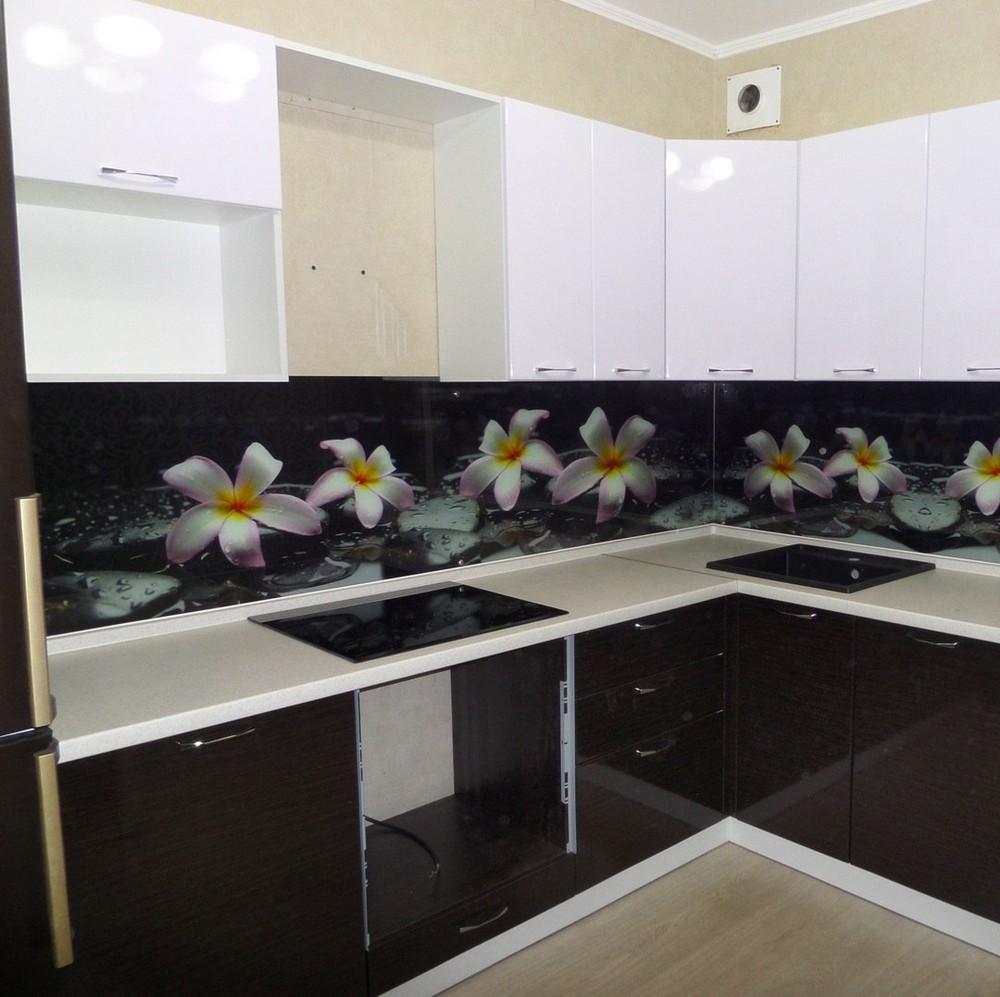 Встроенная кухня-Кухня МДФ в ПВХ «Модель 148»-фото1