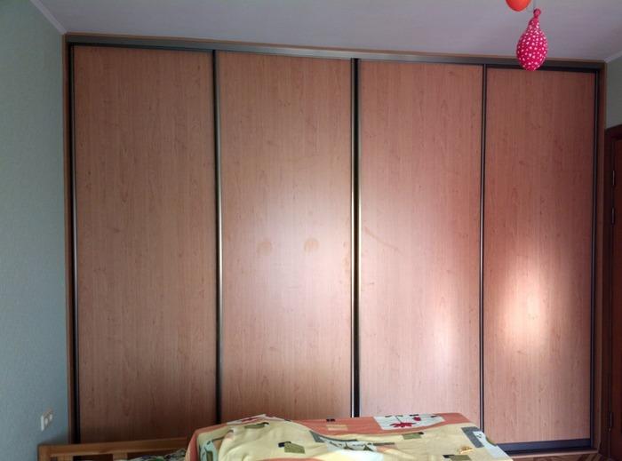 Большой шкаф-купе-Шкаф-купе из ЛДСП «Модель 187»-фото1