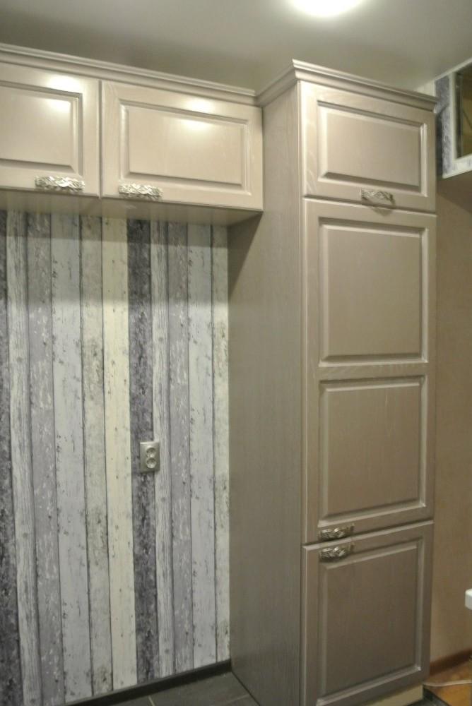 Встроенная кухня-Кухня МДФ в ПВХ «Модель 156»-фото5