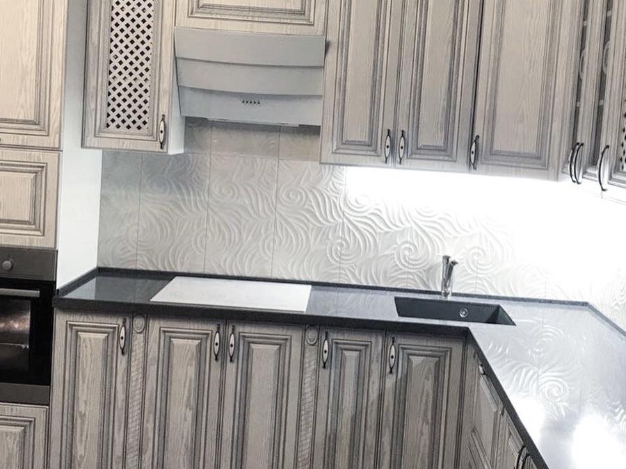 Встроенная кухня-Кухня МДФ в ПВХ «Модель 58»-фото5