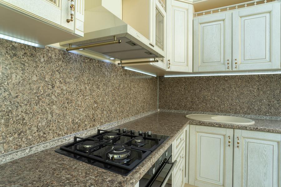 Белый кухонный гарнитур-Кухня МДФ в пластике «Модель 50»-фото2