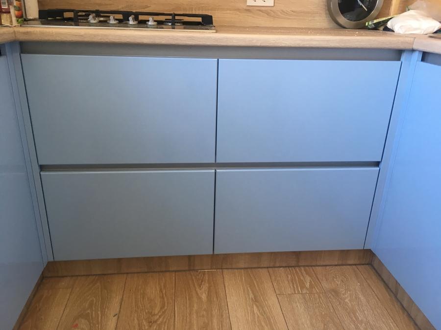 Встроенная кухня-Кухня МДФ в ПВХ «Модель 37»-фото3