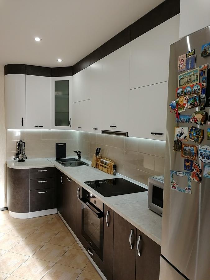 Купить кухню-Кухня МДФ в ПВХ «Модель 27»-фото1