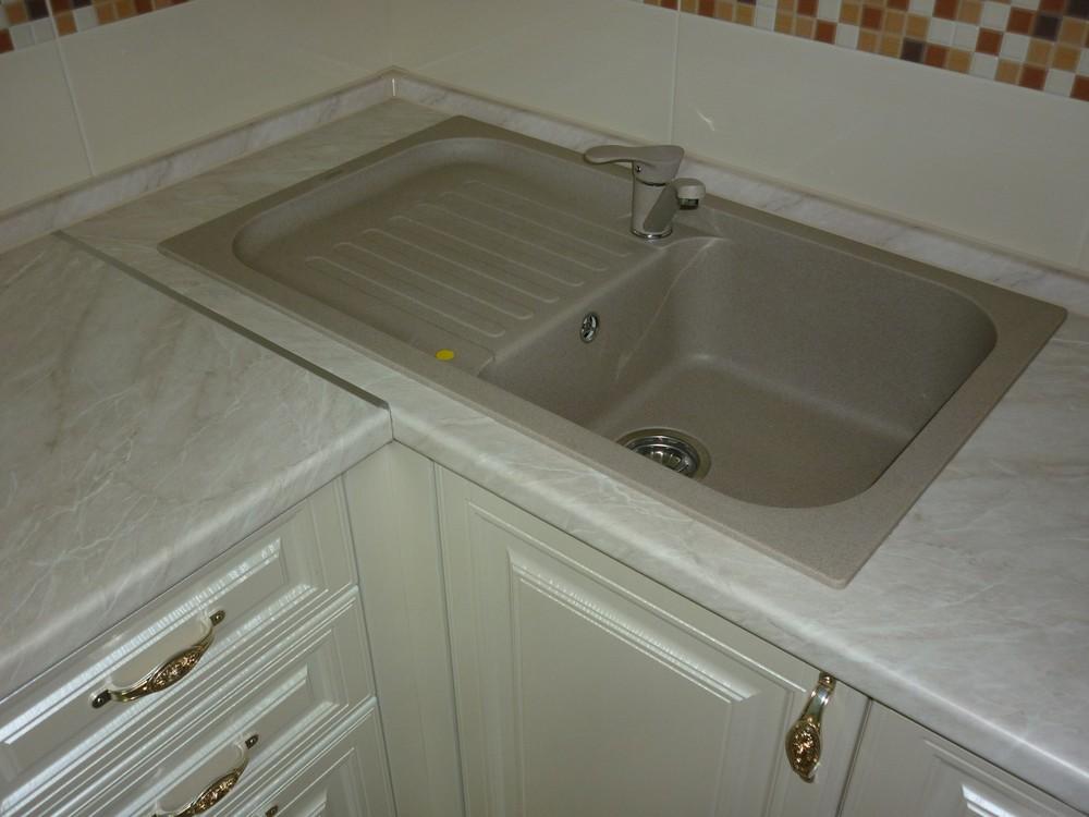Встроенная кухня-Кухня МДФ в ПВХ «Модель 330»-фото6