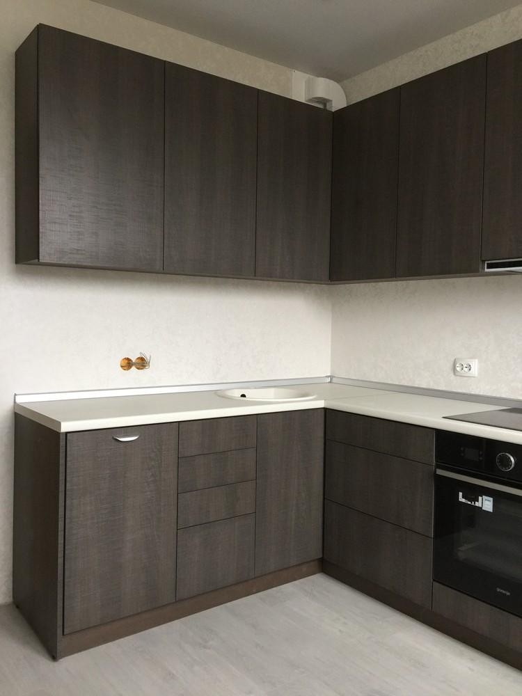 Акриловые кухни-Кухня из пластика «Модель 86»-фото1