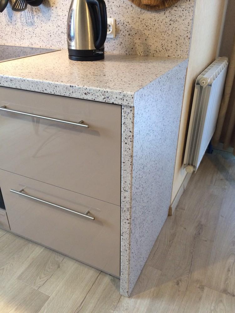 Акриловые кухни-Кухня из пластика «Модель 104»-фото10