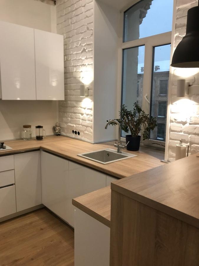Акриловые кухни-Кухня из акрила «Модель 106»-фото2