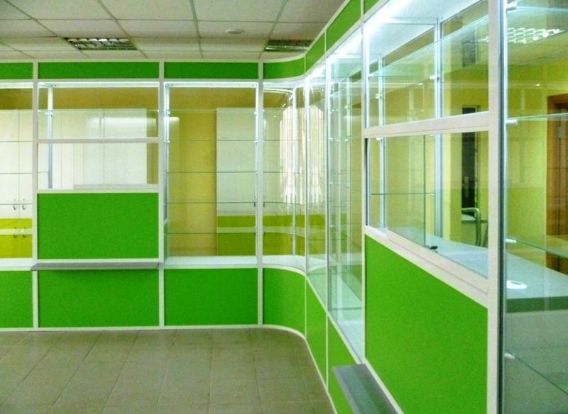 Торговая мебель-Мебель для аптеки «Модель 190»-фото2