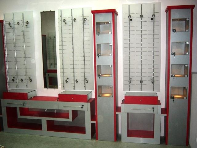 Торговая мебель-Мебель для оптики «Модель 196»-фото4