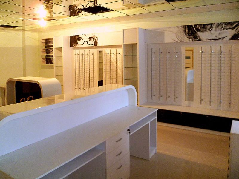 Торговая мебель-Мебель для оптики «Модель 210»-фото1