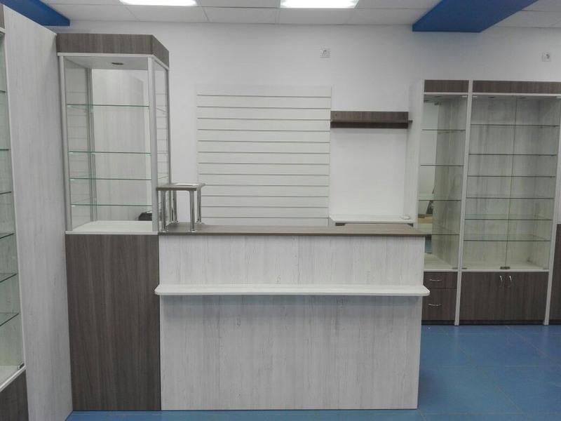 Торговая мебель-Мебель для оптики «Модель 198»-фото1