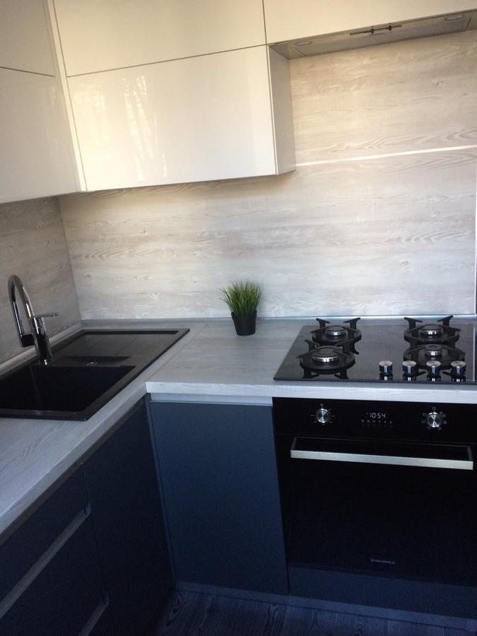 Акриловые кухни-Кухня из пластика «Модель 368»-фото6