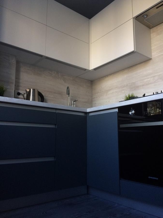Акриловые кухни-Кухня из пластика «Модель 368»-фото4