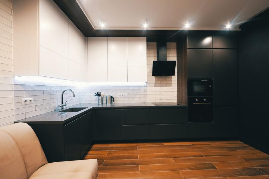 Купить кухню-Кухня МДФ в эмали «Модель 463»-фото2