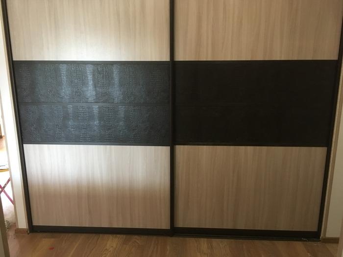 Встроенные шкафы-купе-Комбинированный шкаф-купе «Модель 31»-фото2