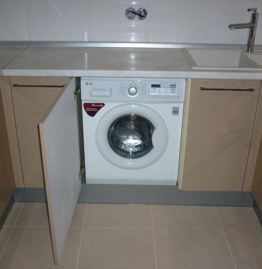 Встроенная кухня-Кухня МДФ в ПВХ «Модель 260»-фото5