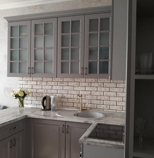 -Кухня МДФ в эмали «Модель 281»-фото25