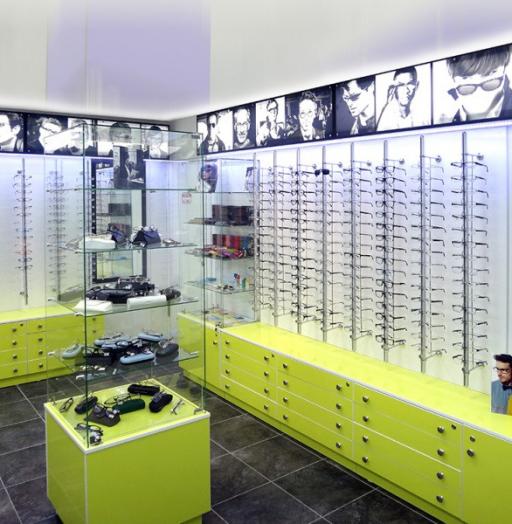 Торговая мебель-Мебель для оптики «Модель 211»-фото2
