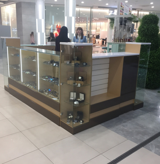 Торговая мебель-Торговый островок «Модель 241»-фото3