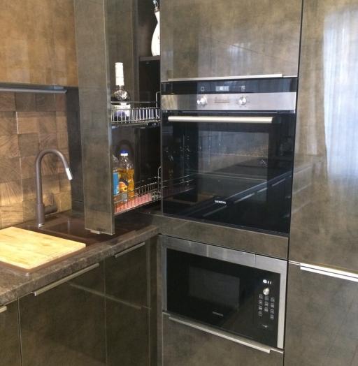 -Кухня из пластика «Модель 113»-фото10