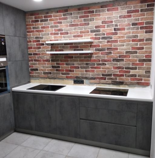 -Кухня МДФ в ПВХ «Модель 442»-фото28