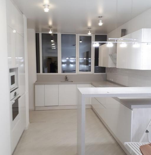 Белый кухонный гарнитур-Кухня «Модель 501»-фото3