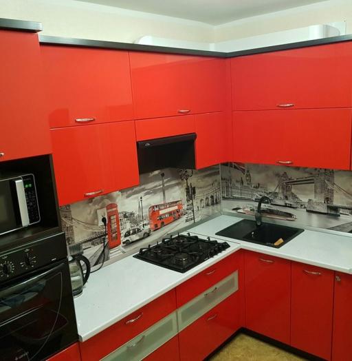 -Кухня из пластика «Модель 138»-фото6
