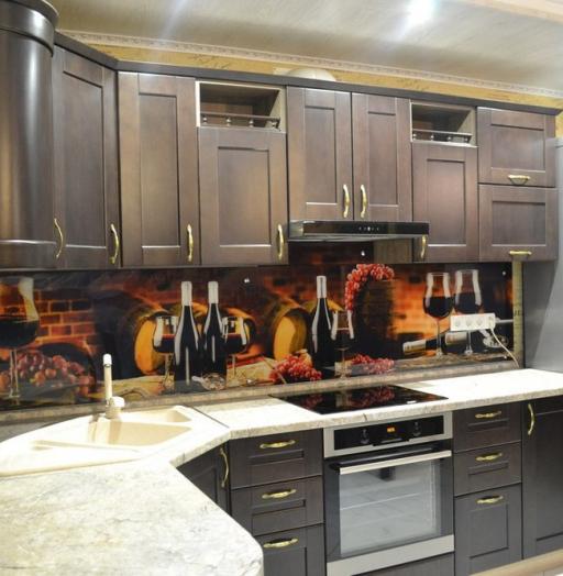 Классические кухни-Кухня из массива «Модель 160»-фото3