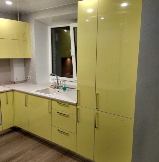 -Кухня МДФ в эмали «Модель 163»-фото12