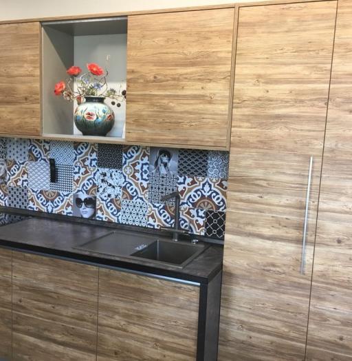 Акриловые кухни-Кухня из пластика «Модель 347»-фото4
